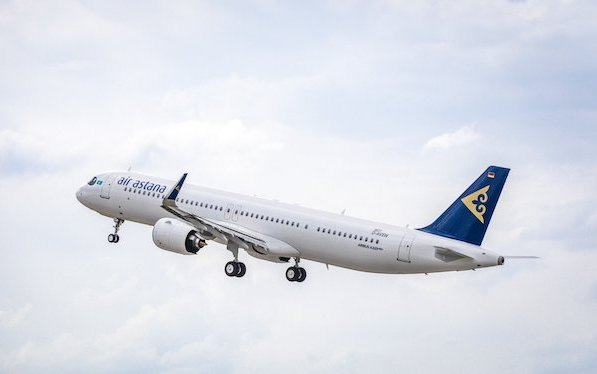 First  Air Astana A321LR delivered