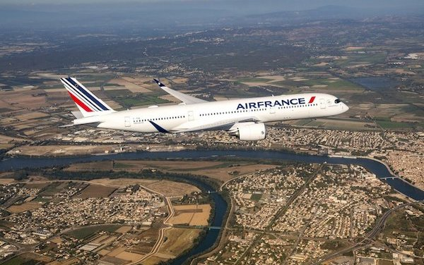 First Air France A350 XWB delivered!