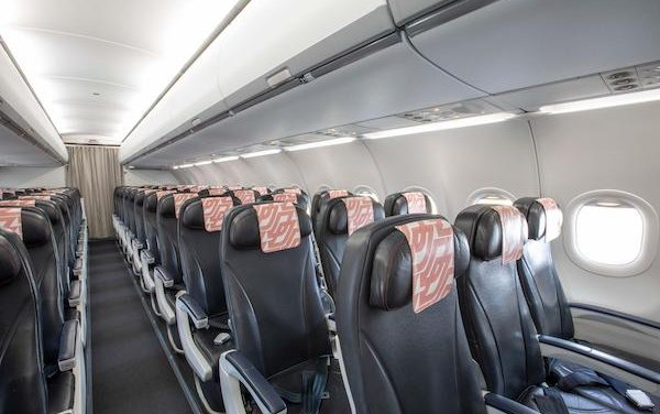 First Air France Airbus A320 refitted with Safran ECOS shelf bins