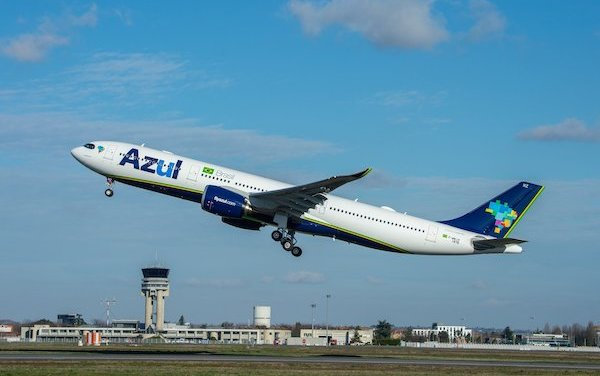 First Airbus A330neo in the Americas delivered to Azul