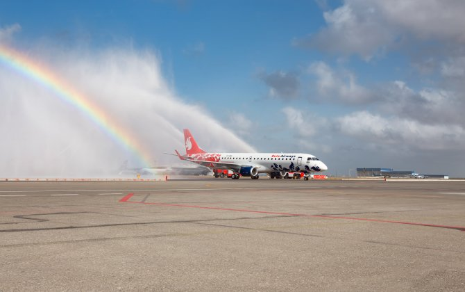 First aircraft of Buta Airways arrived in Baku