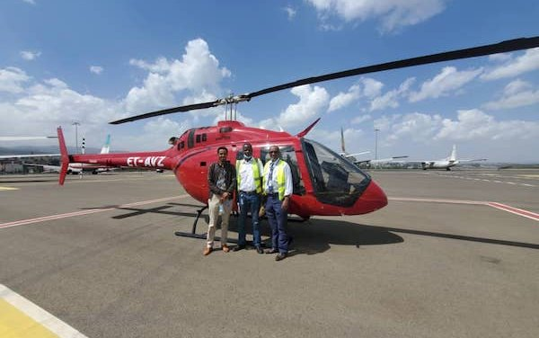 First Bell 505 delivered to Ethiopia
