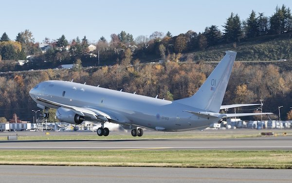 First Boeing P-8A Poseidon delivered to United Kingdom Royal Air Force