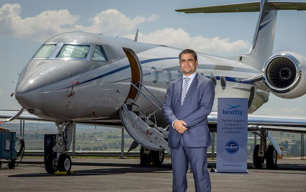 First business aviation company in Angola achieved IS-BAO Stage 2 is Bestfly