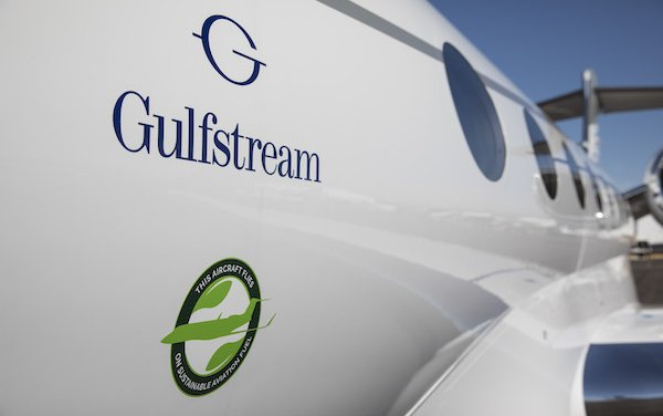 First Carbon-Neutral Flights of Gulfstream jets and Carbon Offsets To Operators