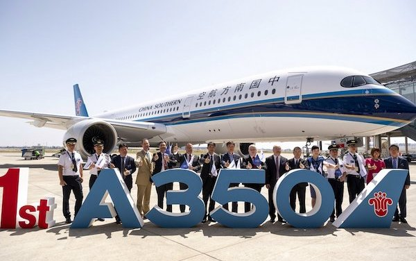 First China Southern Airlines Airbus A350-900 delivered