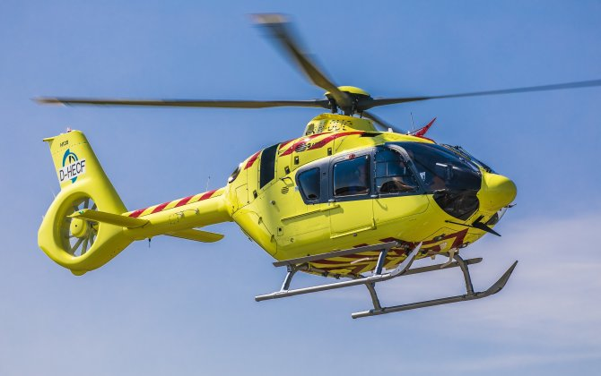 First civil customer Nolas takes delivery of an H135 with Helionix