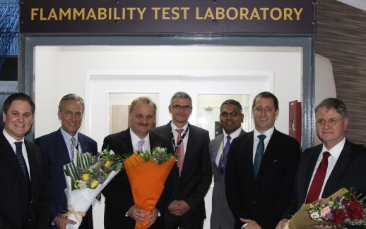 First commercial flammability test lab launched in the Middle East