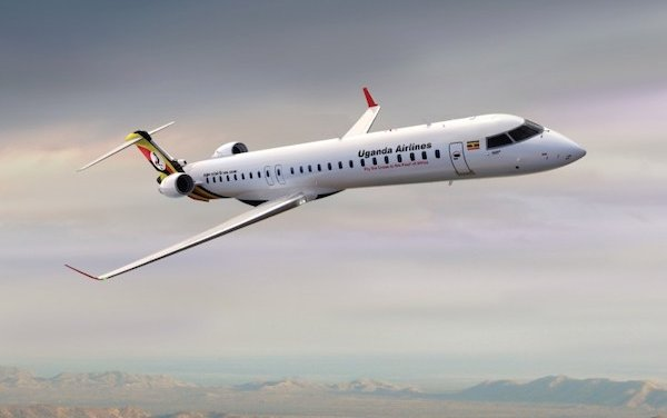 First CRJ900 Aircraft delivered to Uganda Airlines
