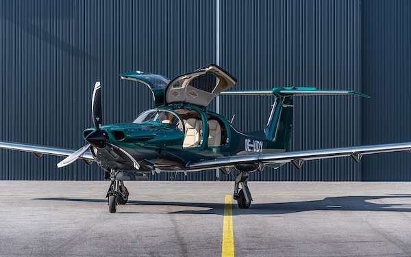 First DA50 RG delivered to the UK
