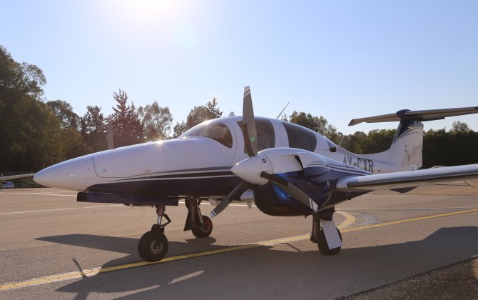 First Diamond Aircraft DA62 for Israel