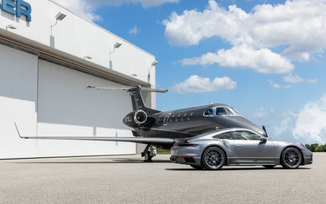 First Duet Embraer collaboration with Porsche Phenom 300E delivered