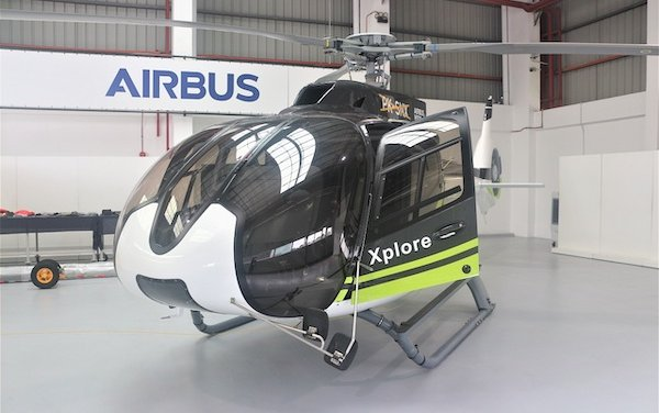 First e-delivery in Asia Pacific for Airbus Helicopters