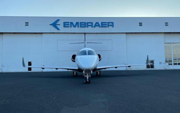 First Embraer Praetor 500 conversion in Europe