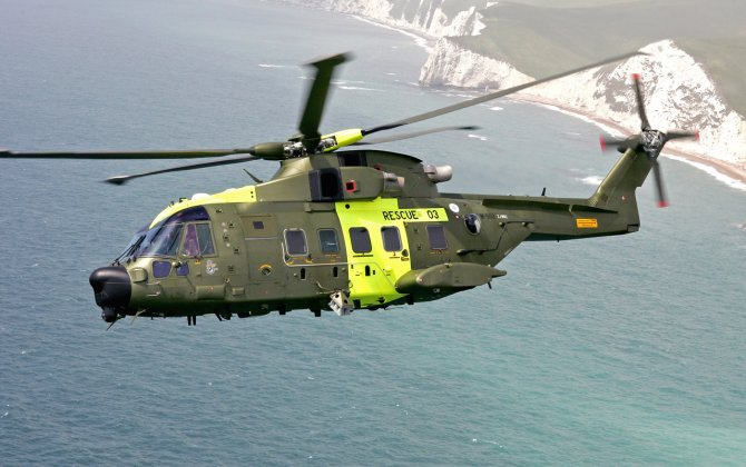 First flight for Norway's initial SAR AW101