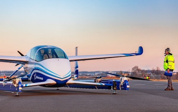 First Flight of Boeing Autonomous Passenger Air Vehicle