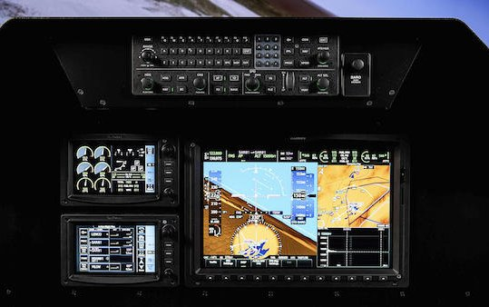 First flight of Garmin G3000 in a supersonic tactical aircraft