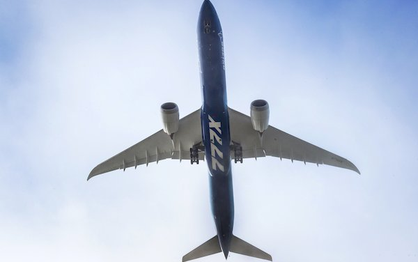 First Flight of New Boeing 777X successfully completed