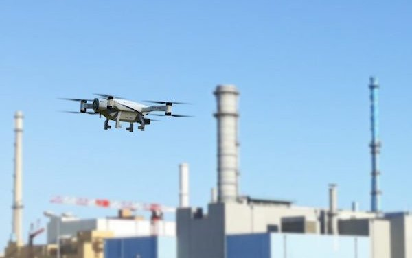 First for the nuclear industry use of an autonomous surveillance drone