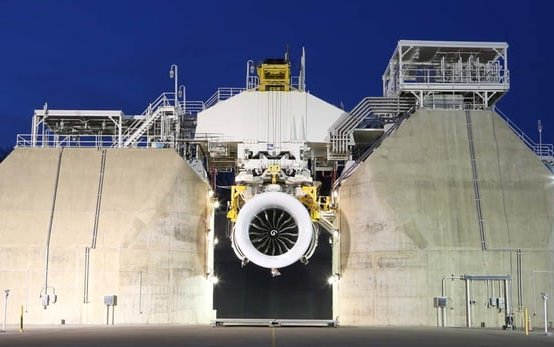 First full GE9X engine hits the mark in ground testing