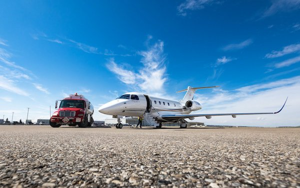 First full service bizav provider in Canada offering SAF to private aircraft clients - Skyservice