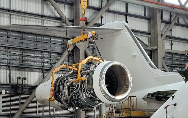 First G650 6C inspection completed by Metrojet Hong Kong