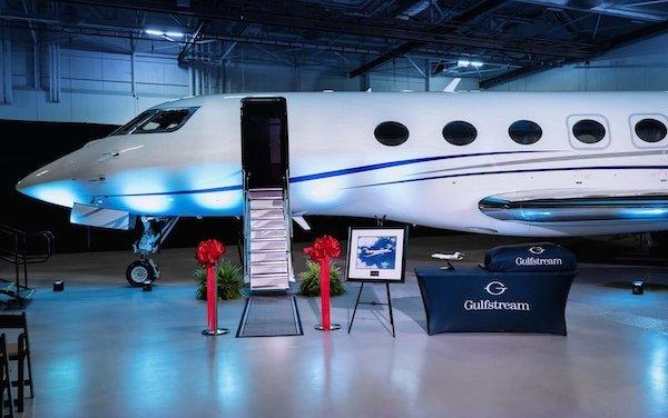 First Gulfstream G600 Delivered!