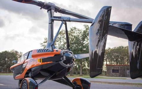 First In The World  - PAL-V flying car to finalize certification basis with EASA