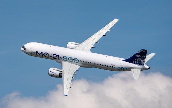 First international flight of MC-21-300 passenger plane to Istanbul