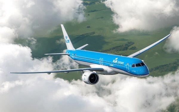 First KLM Embraer E2 delivered