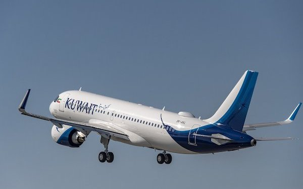 First Kuwait Airways A320neo delivered