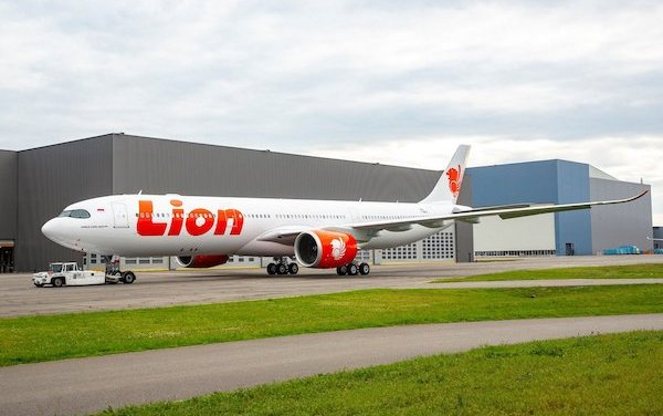 First Lion Air A330neo rolls-out of Airbus paint shop