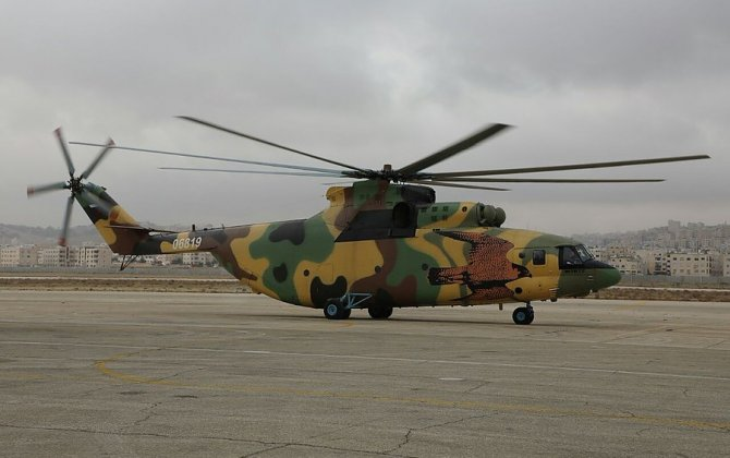 First Mi-26T2 joins Royal Jordanian Air Force fleet