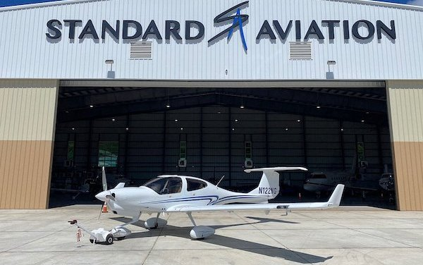 First New DA40 NG Delivered to Caribbean Island