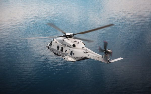 First NH90 Sea Lion delivered to the German Armed Forces