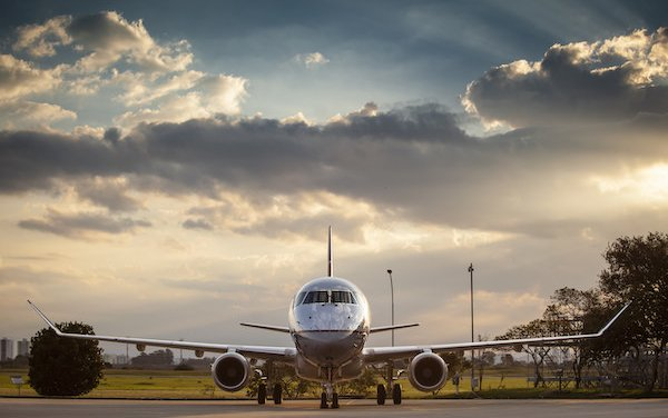 First of 25 New Embraer E175 Aircraft delivered to ExpressJet Airlines