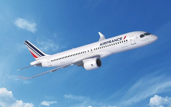 First of 60 Air France Airbus A220s delivered