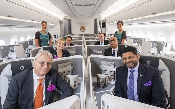First of two Fiji Airways  A350 XWBs delivered