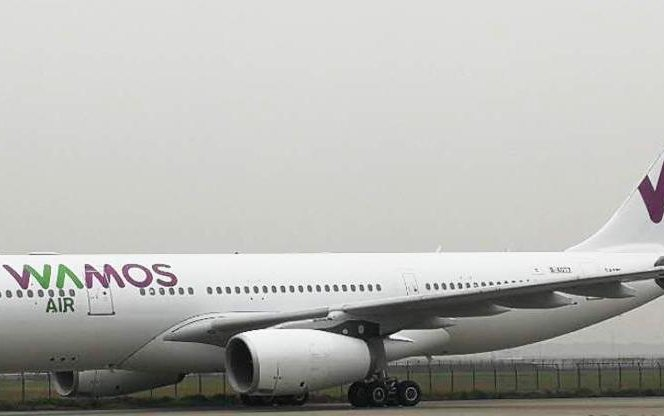 First of Two Wamos Air A330-200s delivered by CDB Aviation