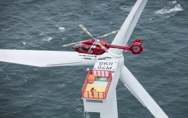 First operator to use the new H145 for Offshore Wind operations - HTM-Helicopters