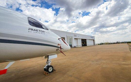 First Praetor 500 conversion in Brazil delivered by Embraer