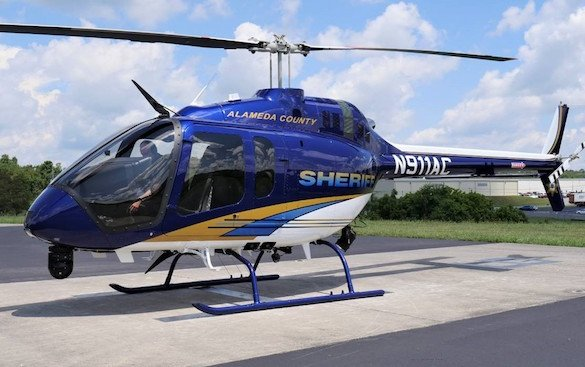 First Public Safety Configured Bell 505 Jet Ranger X delivered