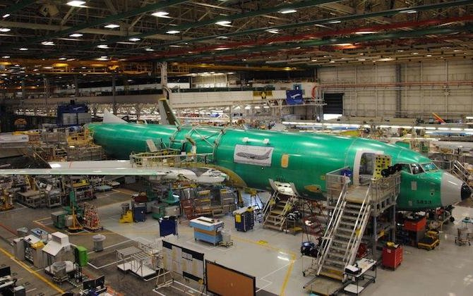 First RAAF P-8A takes shape at Renton final assembly line