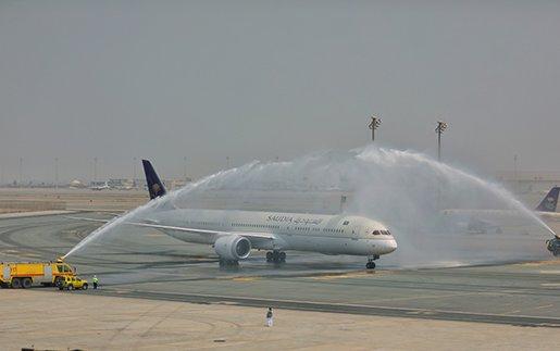First SAUDIA Boeing 787-10 Dreamliner delivered