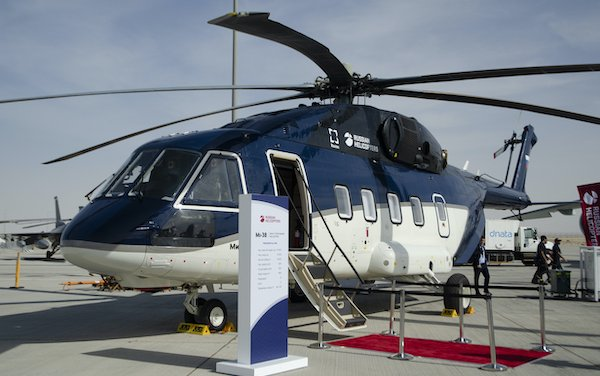 First serial produced Mi-38 delivered to a client