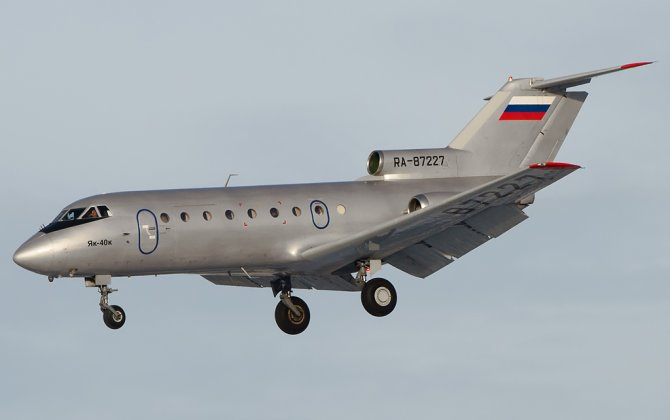 First soviet business jet celebrates 50 years