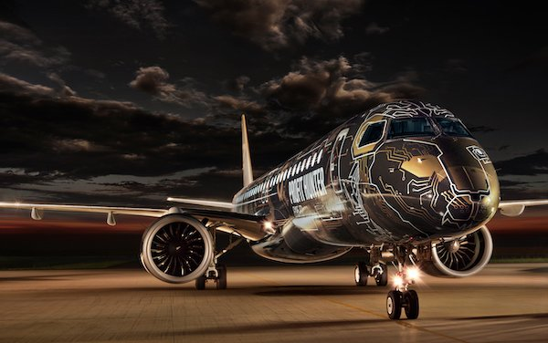 "First Stop of Global Demonstration Tour - Embraer's ""TechLion"" E195-E2 Visits China"