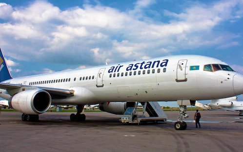 First time in Russia S7 Technics will perform heavy maintenance of Air Astana's Boeing 757