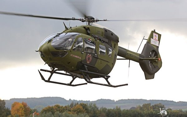 First two H145s delivered to the Ecuadorian Air Force