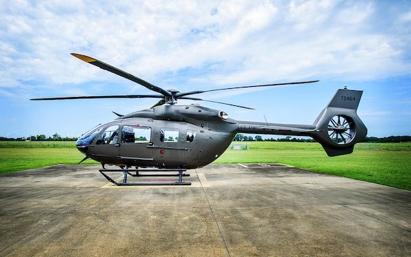First UH-72B Lakota helicopter delivered to the U.S. Army National Guard